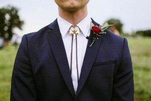 Wedding Bolo Tie