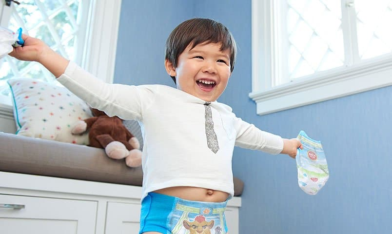 Pampers Easy Ups vs Pull Ups