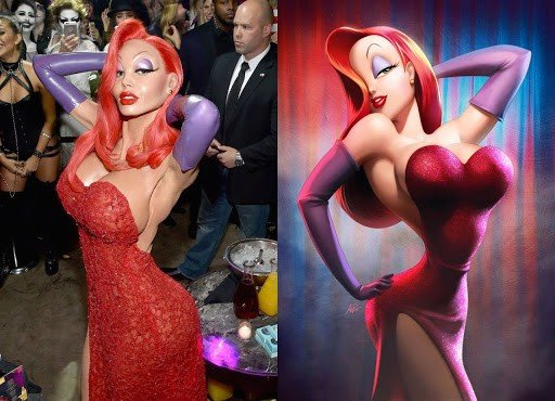 Best Jessica Rabbit Costumes